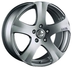 OZ Racing 5 Star Metal Silver