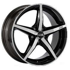 OZ Racing Canova Black + Diamond Cut