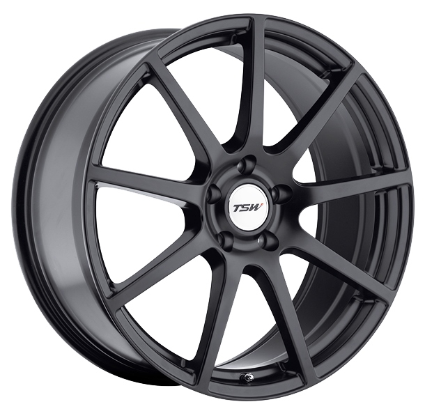 TSW Interlagos Matte Black