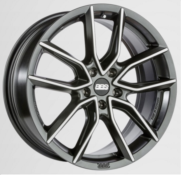 BBS XA0104 Black Diamond Cut
