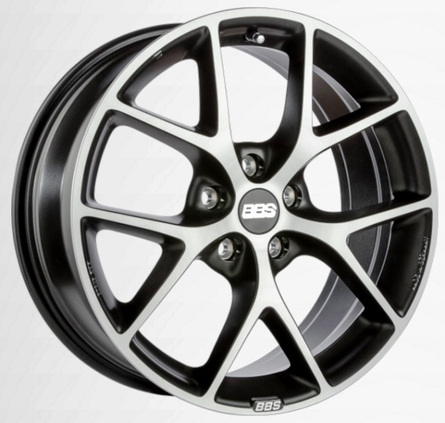 BBS SR029 Vulcano Grey Diamond Cut