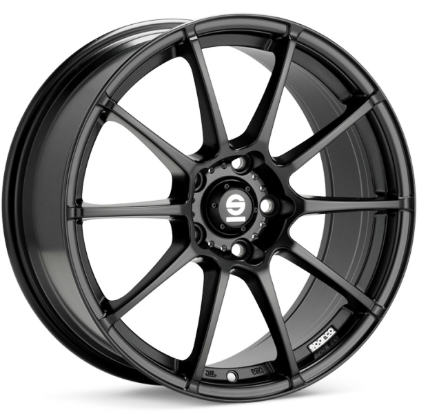 Sparco Assetto Gara Matt Black